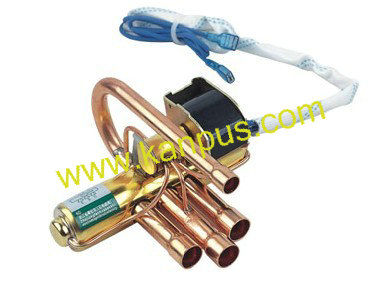 4 way reversing valve for air conditioner (air conditioning parts, refrigeration valve)