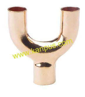 Copper Tee open (copper U bend, copper fitting, air conditioning parts)