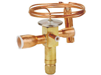 China SHRTDE(B) Series Thermal Expansion Valve (refrigeration valve, brass valve, HVAC/R valve, ACR valve) distributor