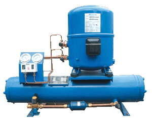 China Hermetic water-cooled refrigeration condensing unit, ACR unit, HVAC/R equipment distributor